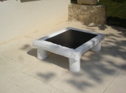 deco design autres table design bambou basse : Table basse BAMBOU