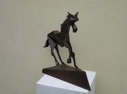 sculpture : Le cheval