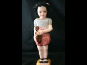 sculpture personnages poupee sculpture statuette contemporain : Betty